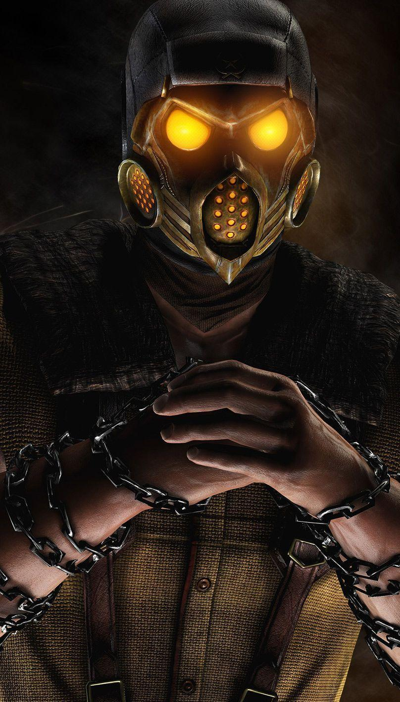 Mortal Kombat X Kold War Scorpion wallpapers