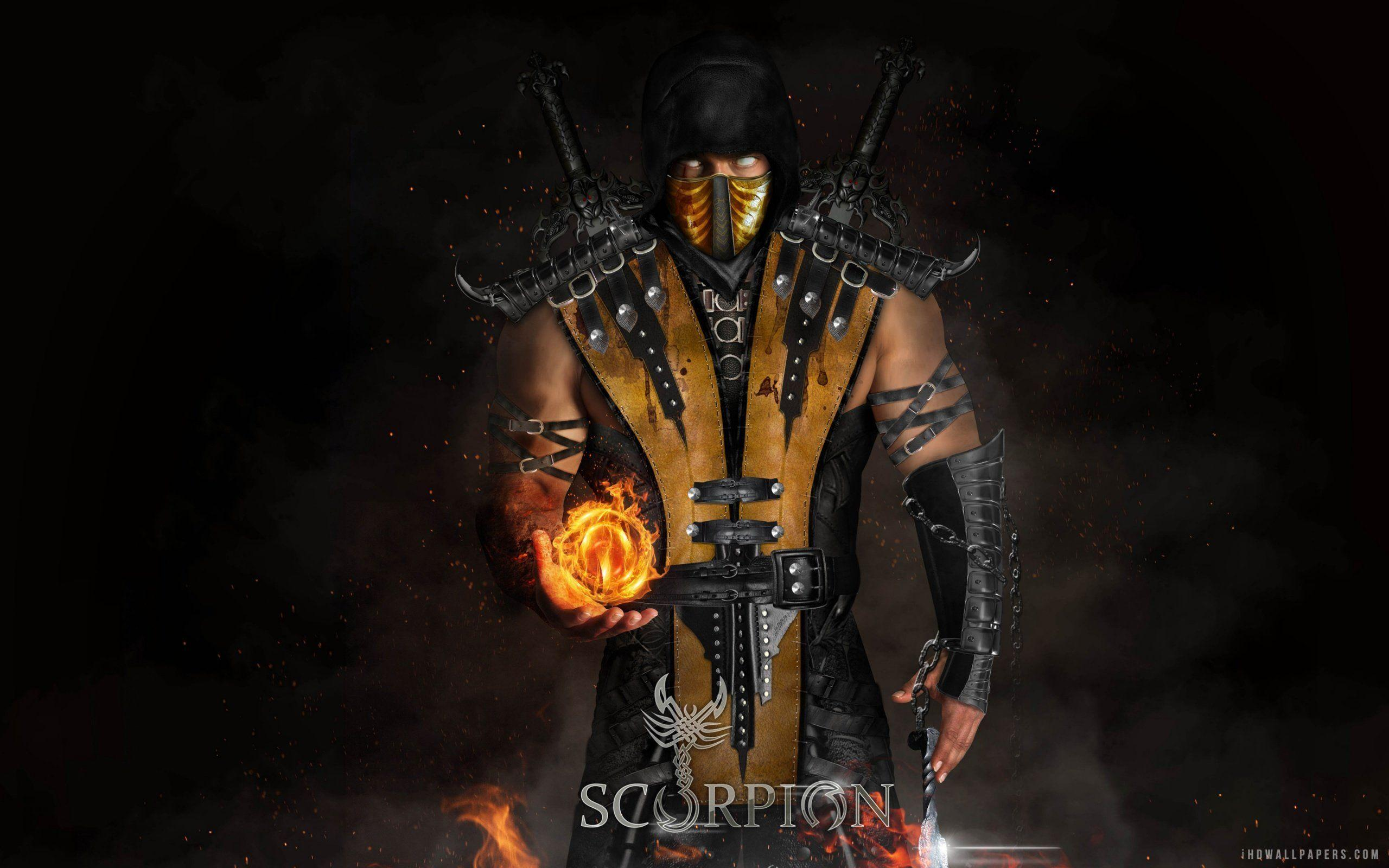 Mortal Kombat X Scorpions Evolution Wallpapers by StainBreak