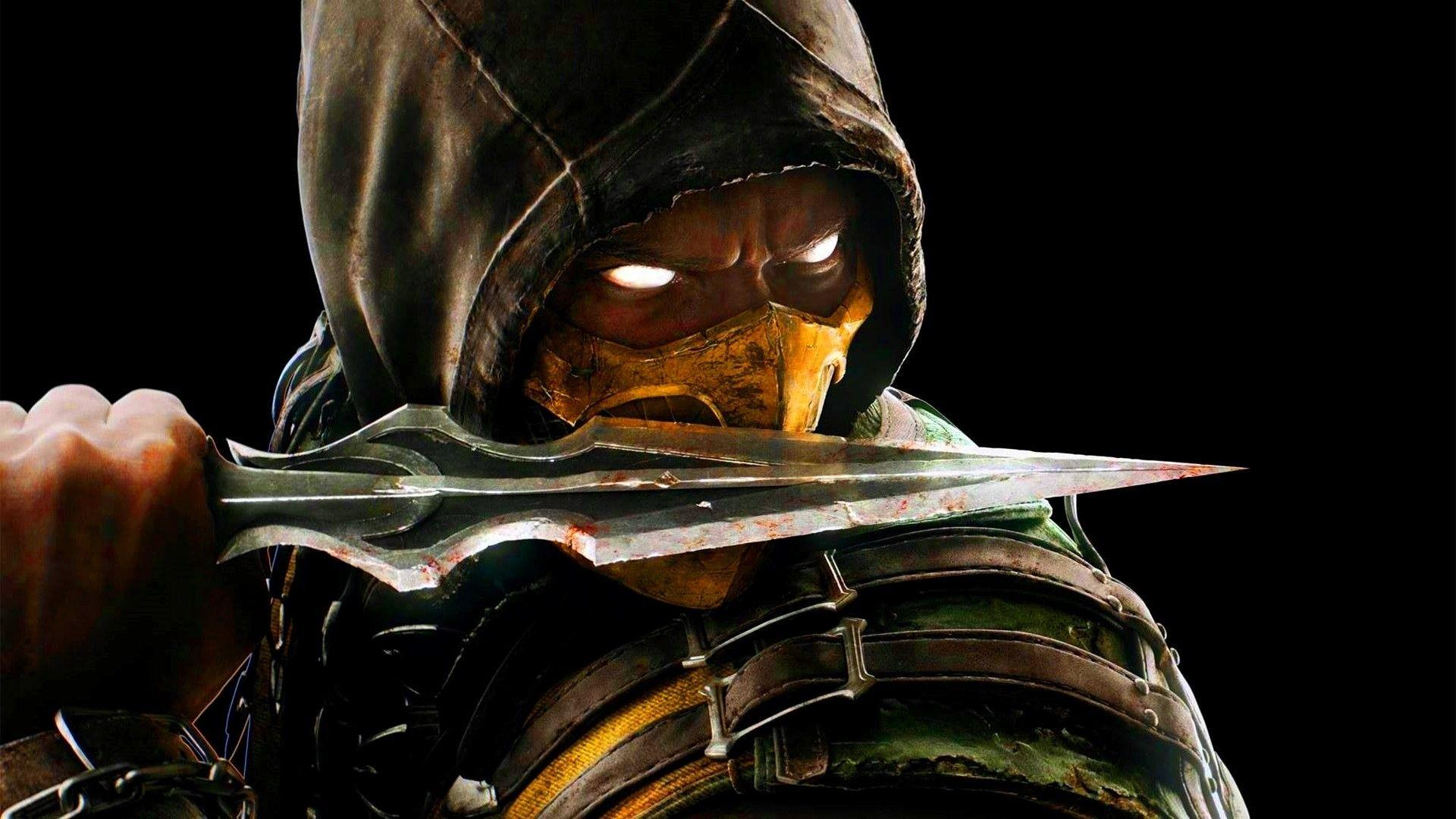 Mortal Kombat Scorpion Wallpapers ·①