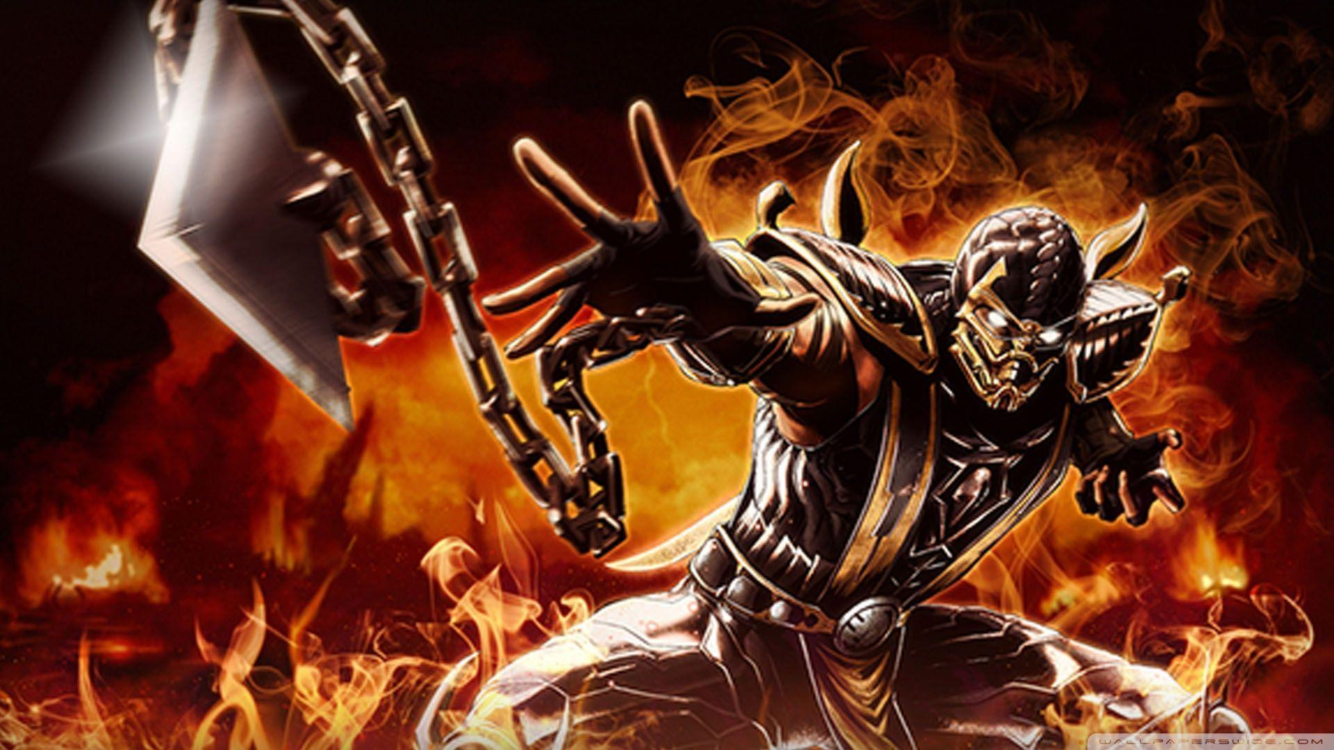 Mortal Kombat Scorpion Wallpapers Picture • dodskypict