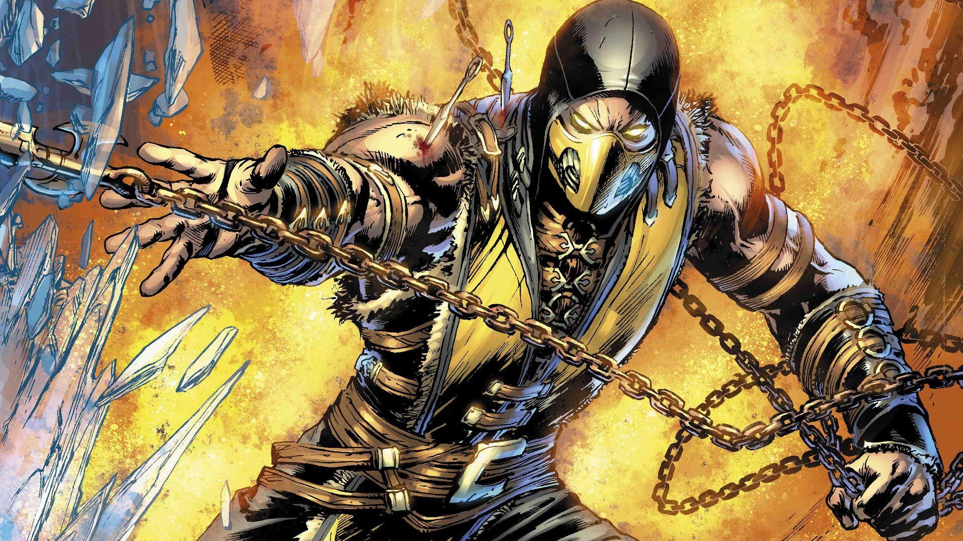 Scorpion mortal kombat pictures Gallery