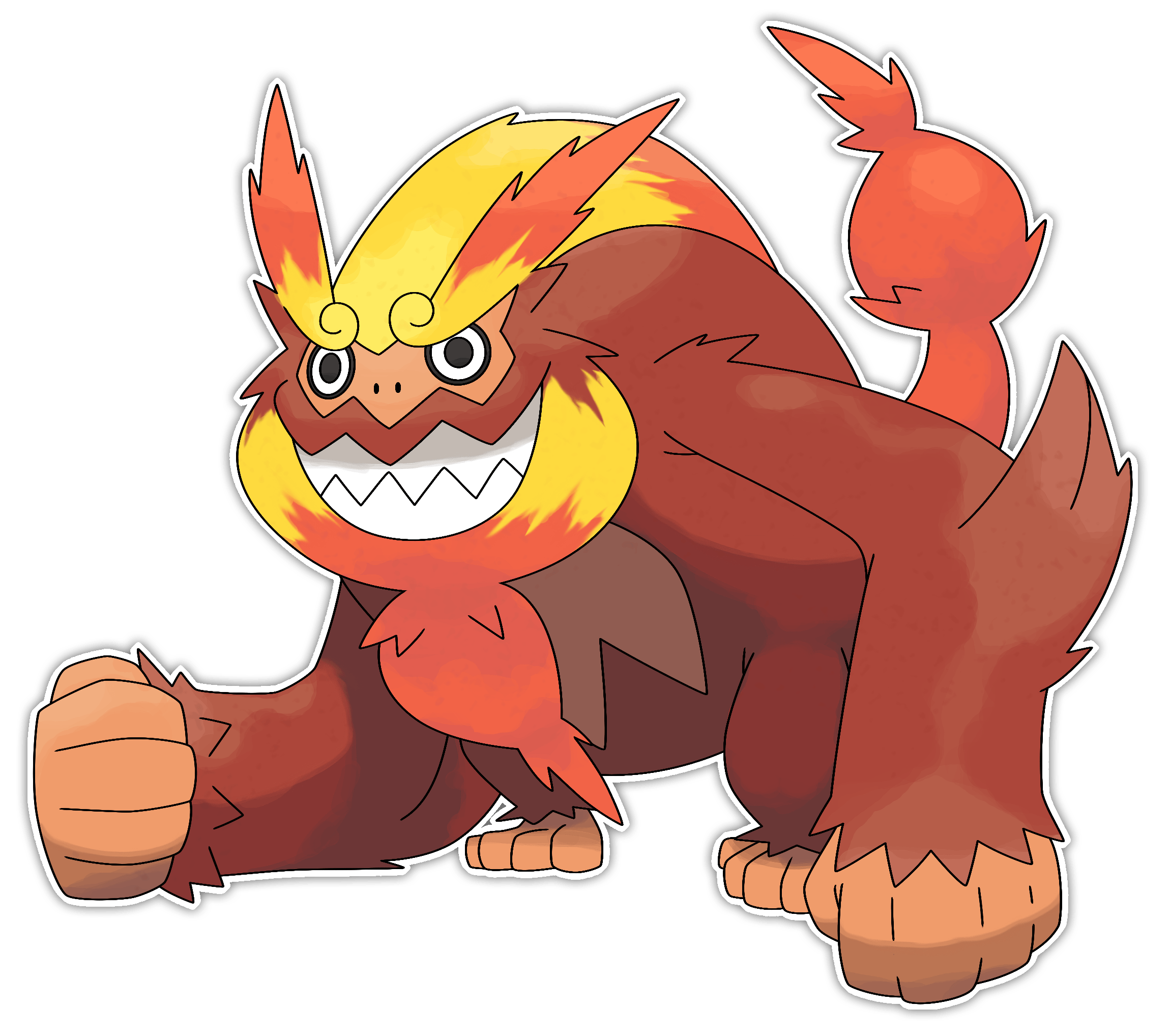 Mega Darmanitan by Smiley
