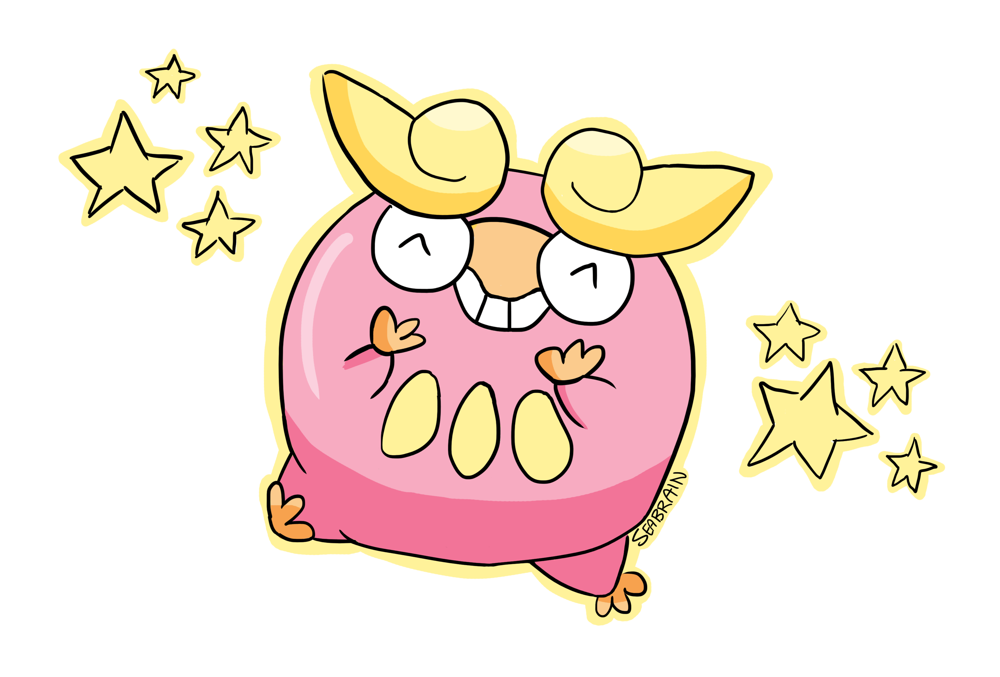 Shiny Darumaka! by seabrain on DeviantArt