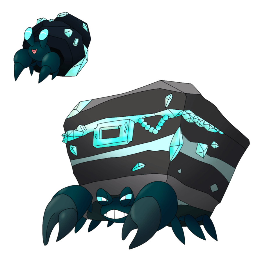 Xicome Shiny Dwebble Crustle by That-One-Leo on DeviantArt