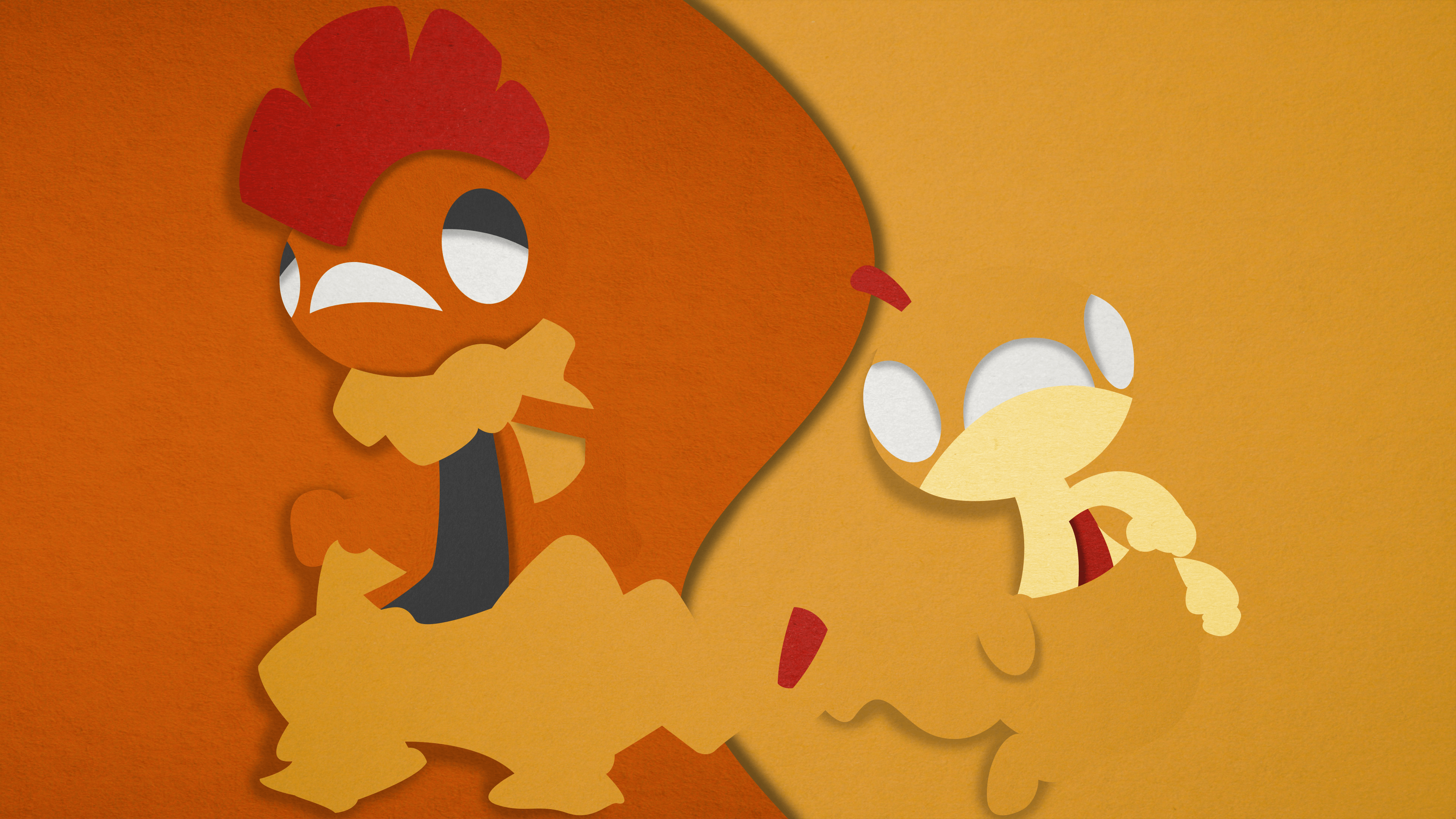 Scraggy and Scrafty