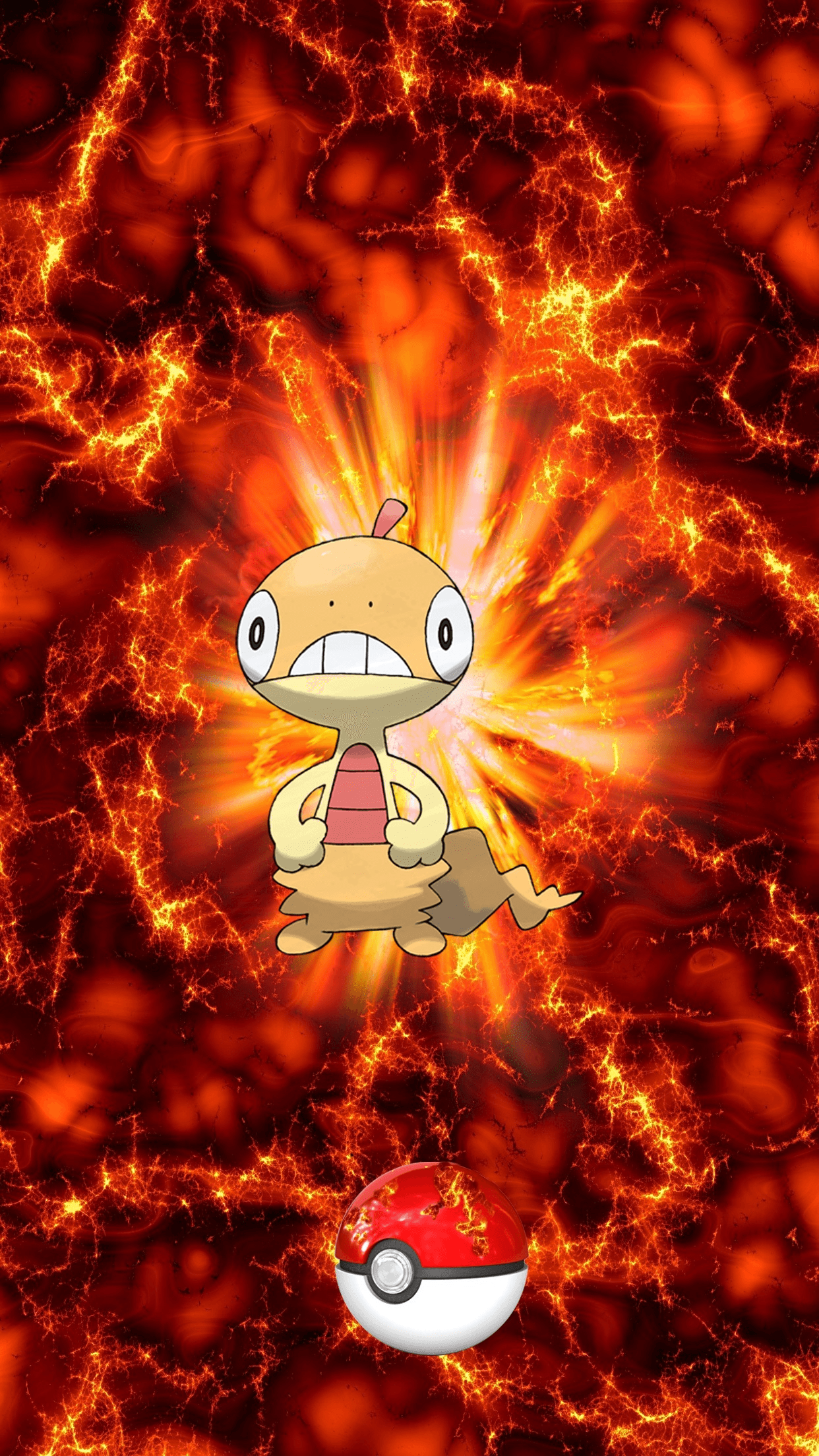 559 Fire Pokeball Scraggy Zuruggu 91 Egg