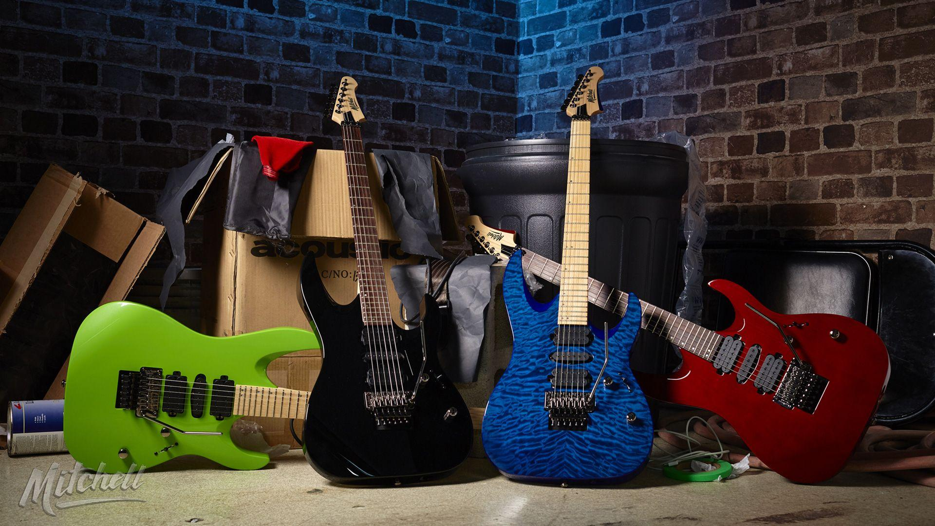 Mitchell Guitars Wallpapers | Mitchell Electric Guitars Free Downloads