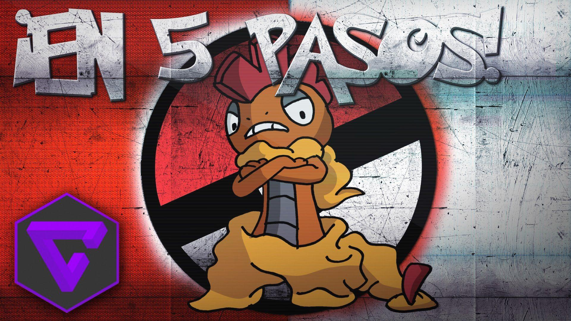 POKÉMON: ¡SCRAFTY EN 5 PASOS! (New) - YouTube