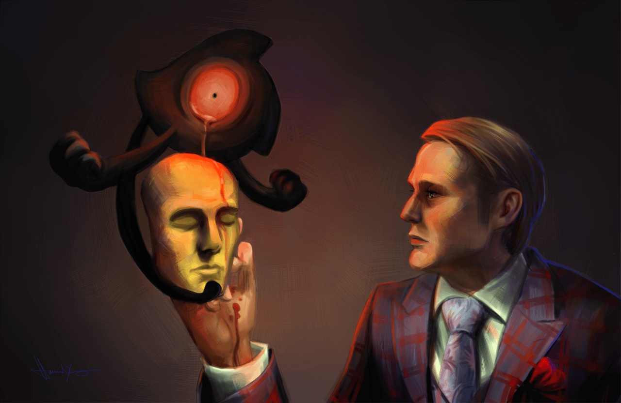 Hannibal+PKMN - Yamask by nitefise on DeviantArt