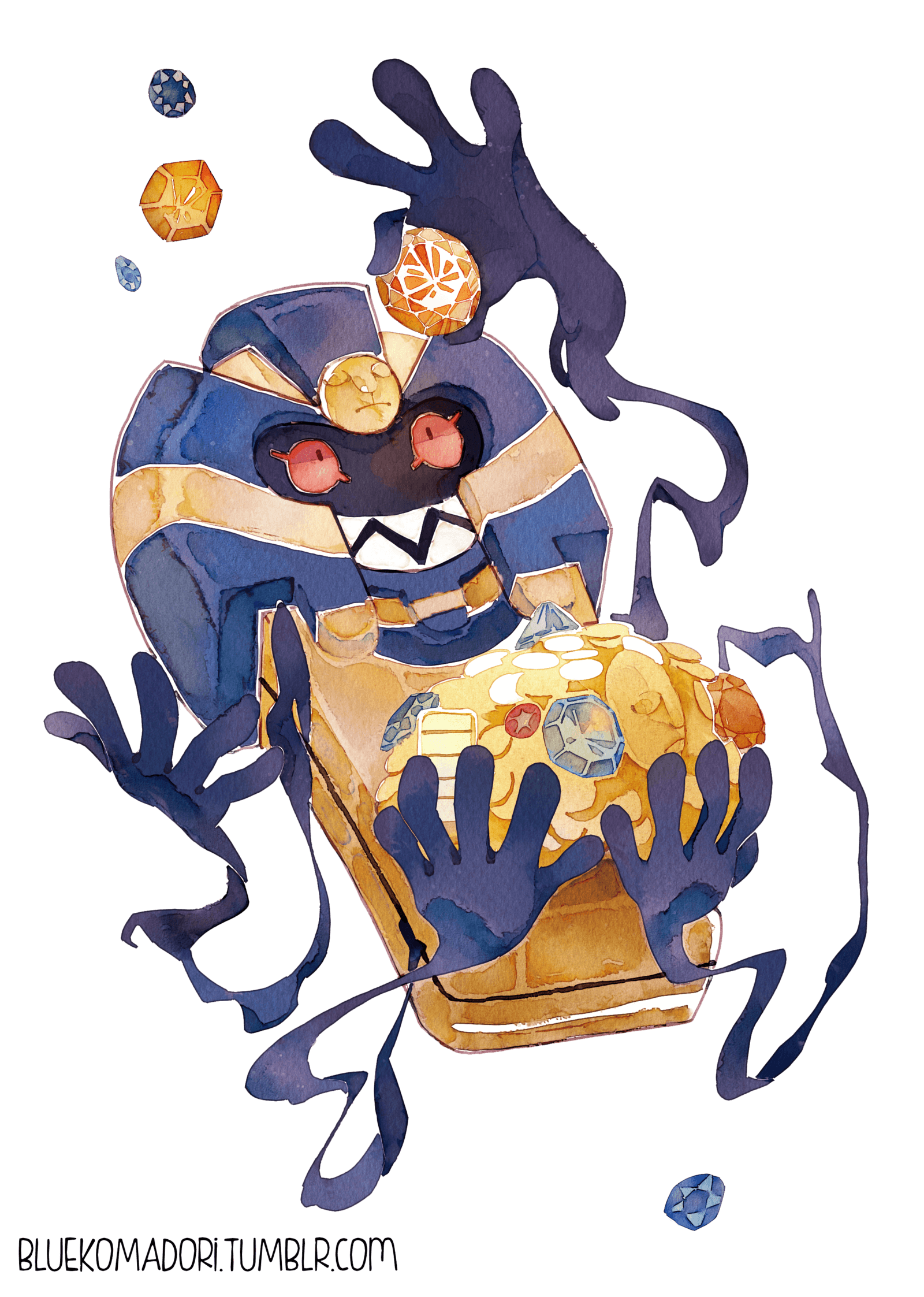 Cofagrigus by bluekomadori.deviantart on @DeviantArt