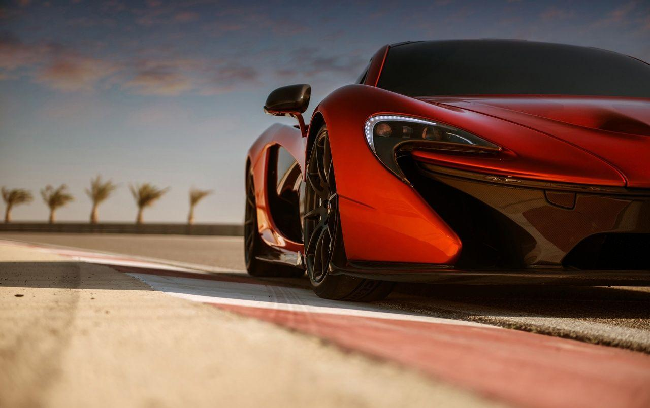 2013 McLaren P1 at Bahrain Front Section wallpapers