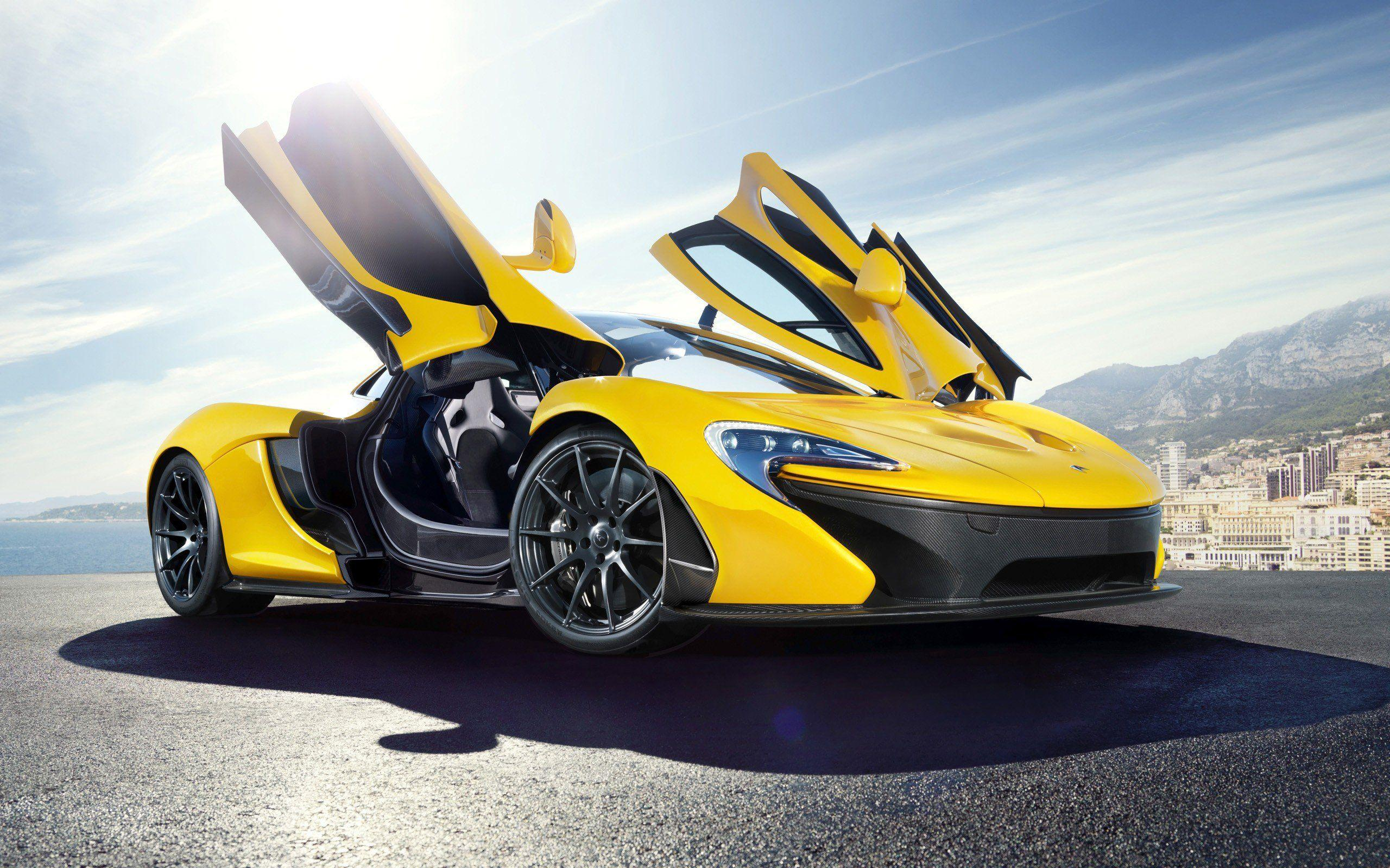 Yellow Mclaren P1, HD Cars, 4k Wallpapers, Image, Backgrounds