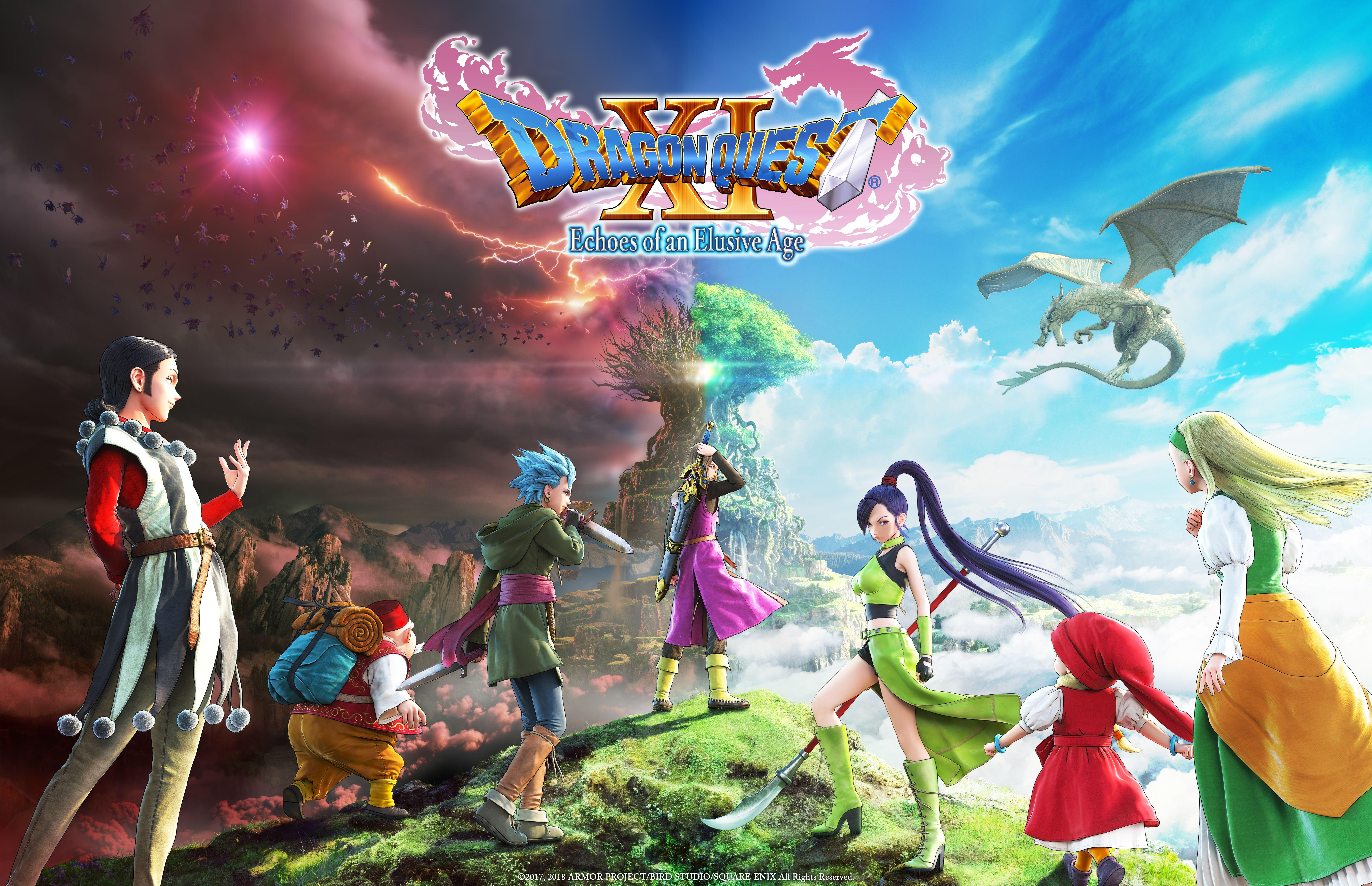 Dragon Quest Xi Echoes Of An Elusive Age Wallpapers