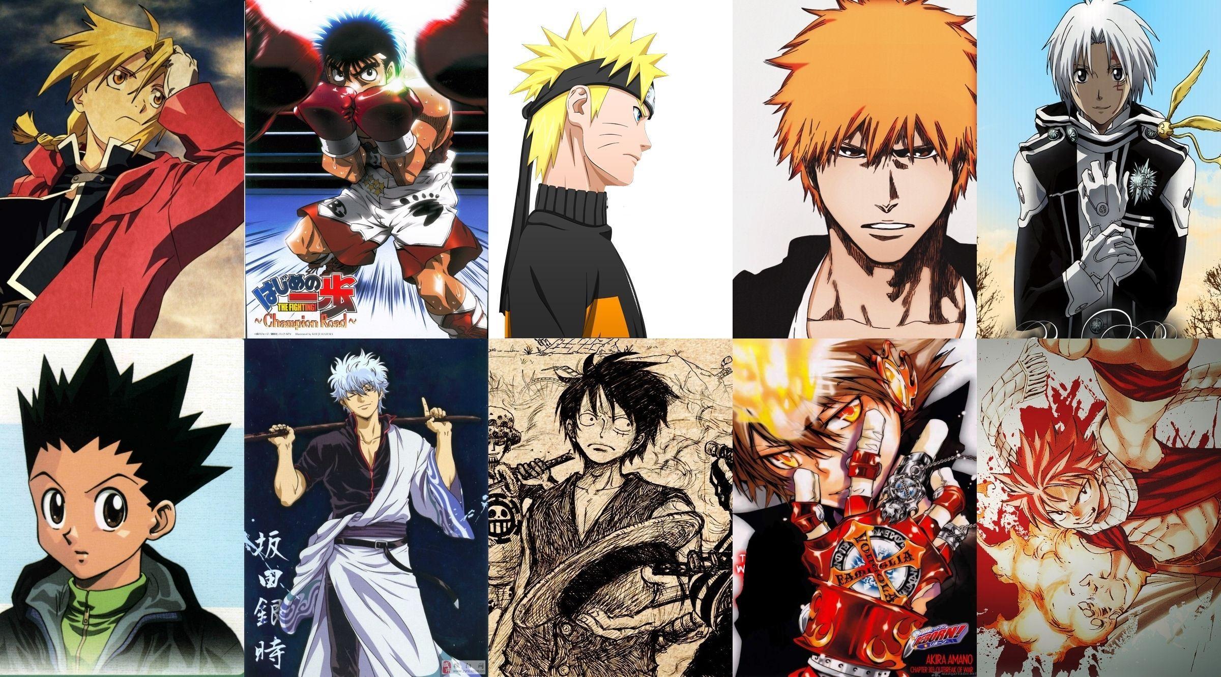 All Shounen Anime Wallpaper Anime Wallpapers