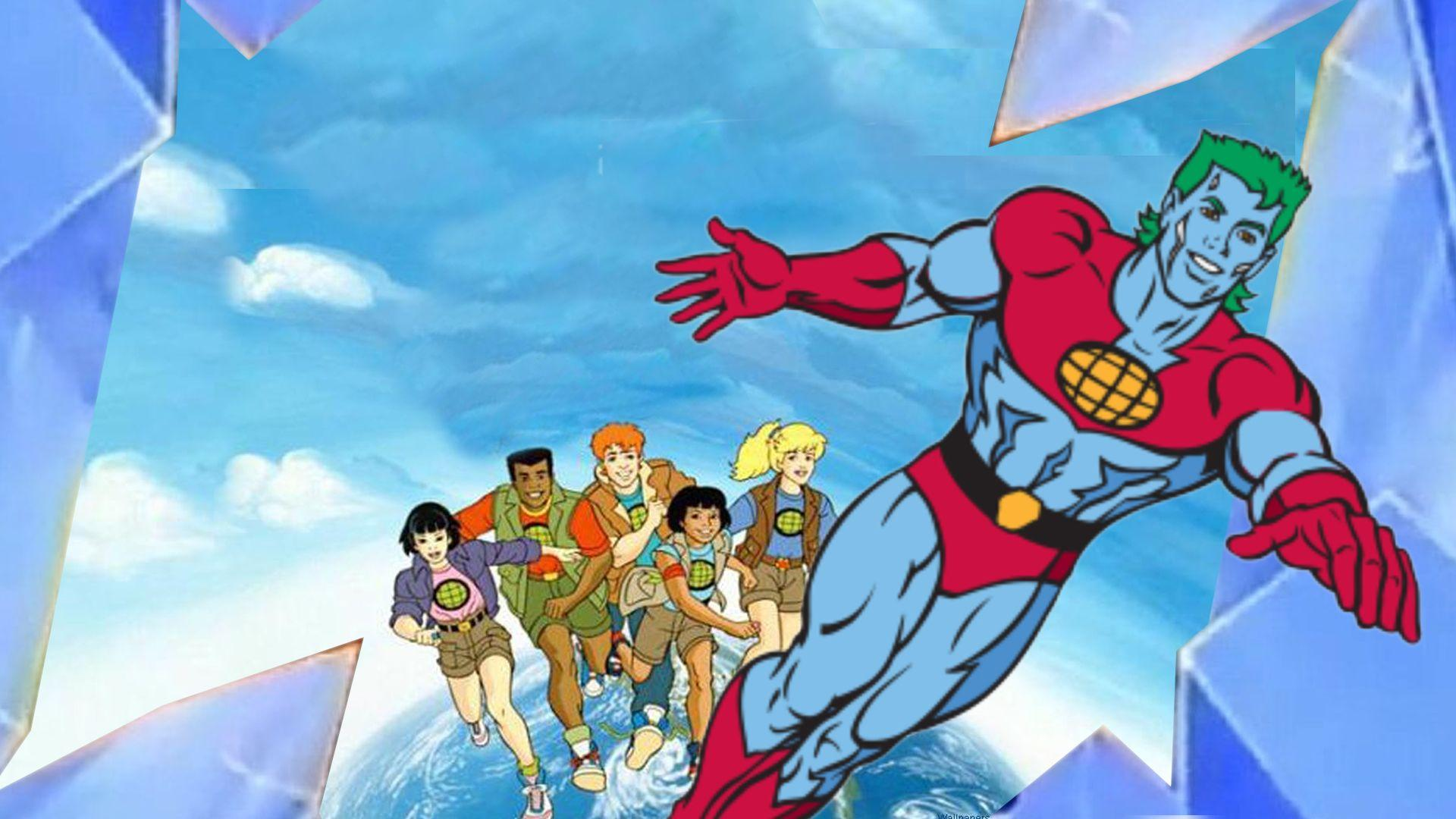Captain Planet - 90s Cartoons