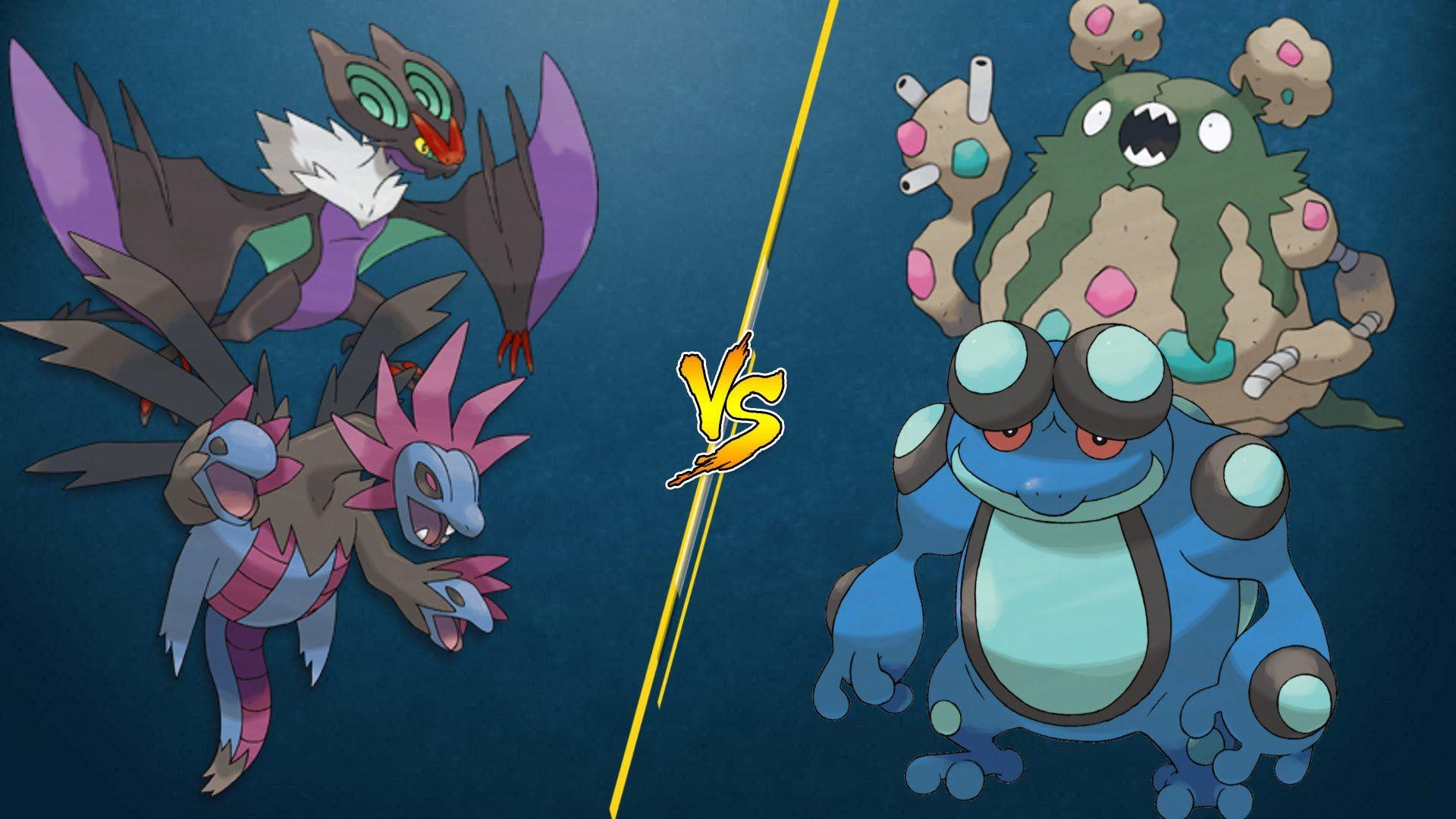 PTCGO Stream Match] Hydreigon/Noivern vs Seismitoad/Garbodor - YouTube
