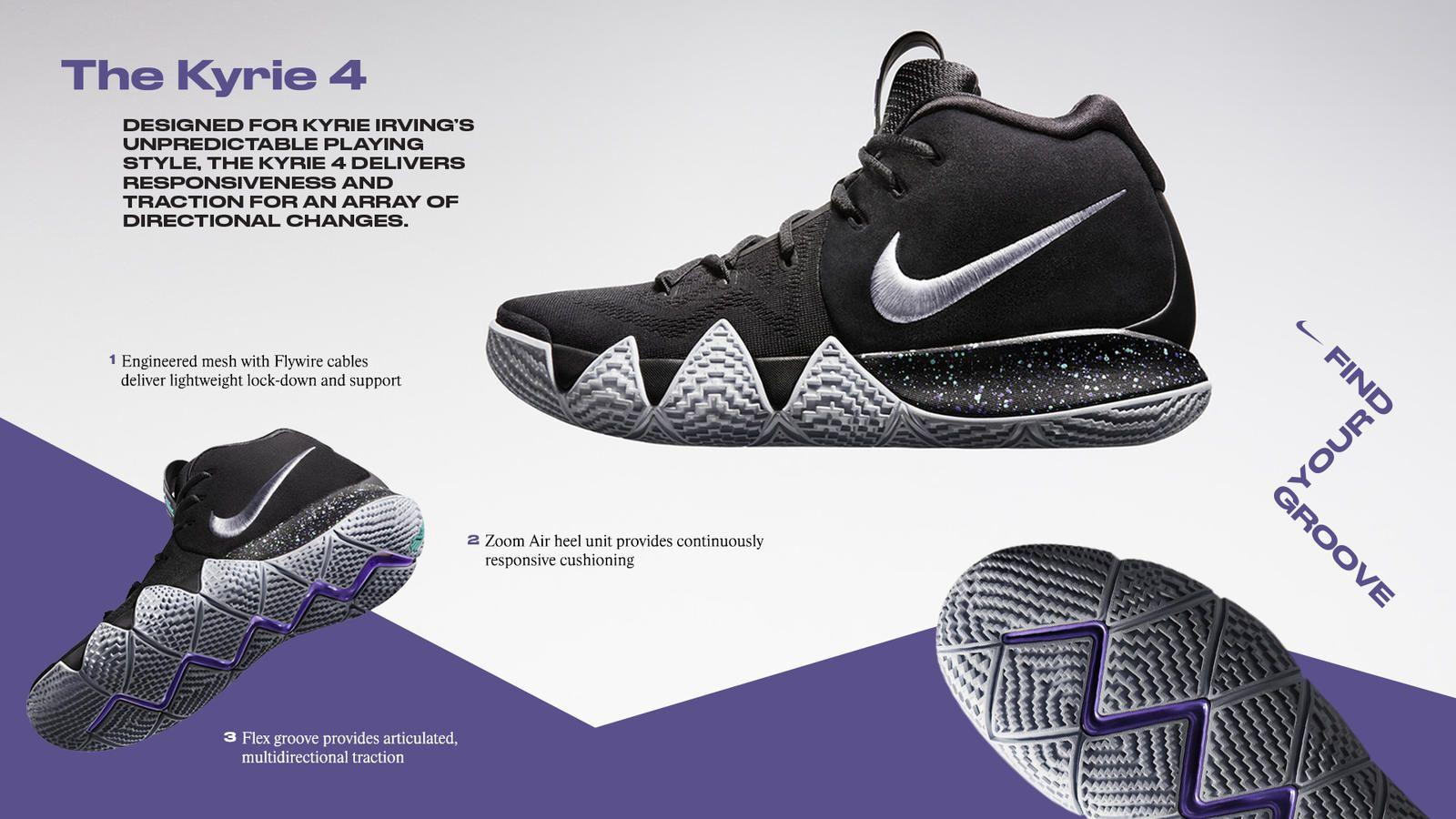 newest b139e ed86c Nike Kyrie 4 Wallpapers - Wallpaper Cave