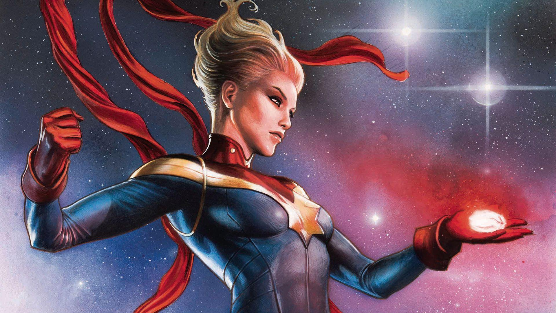 Captain Marvel Wallpapers - Wallpaper Cave