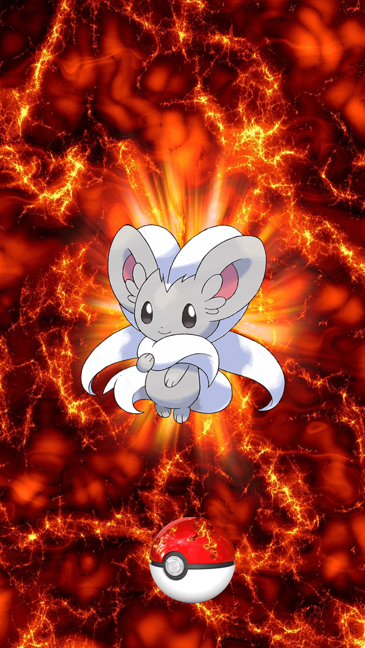 573 Fire Pokeball Cinccino Chillaccino 17 Minccino | Wallpaper