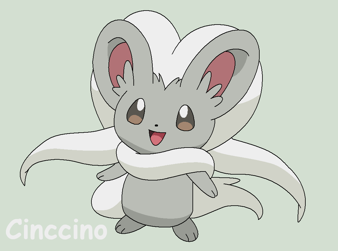Cinccino by Roky320 on DeviantArt