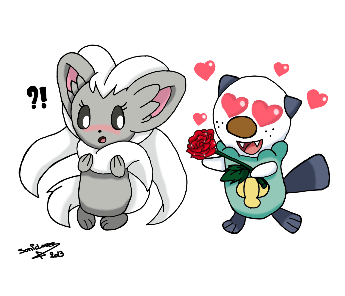 Oshawott Loves Cinccino by XxSonicLoverxX on DeviantArt