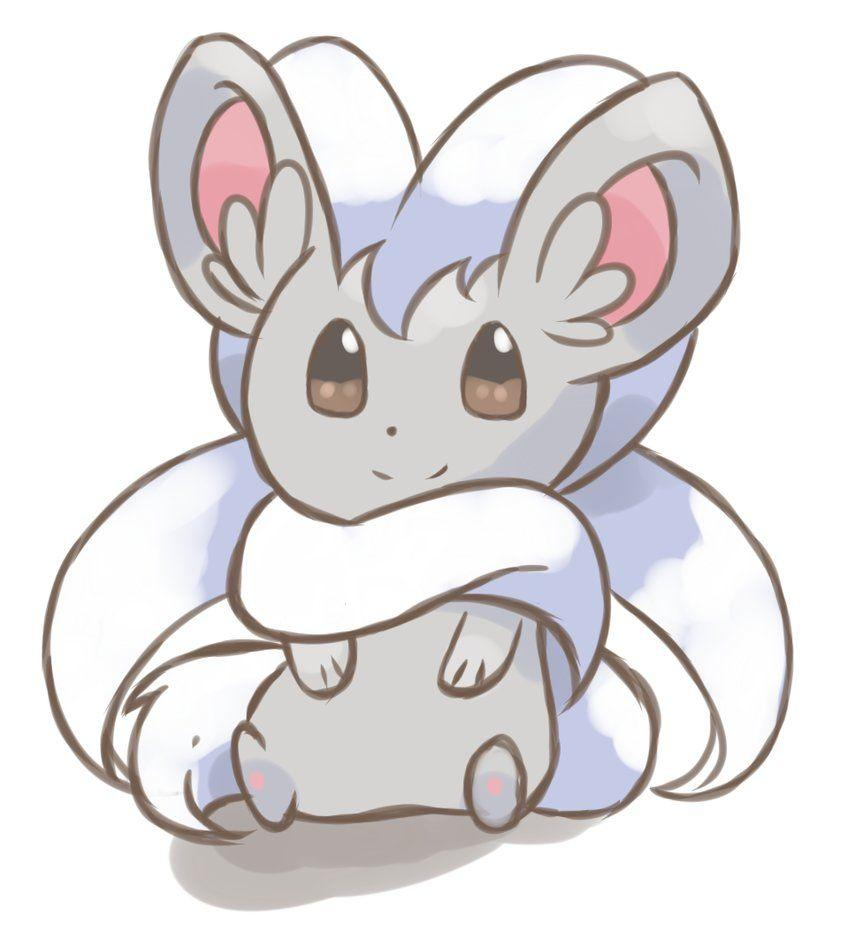 Pokemon Sketch - Cinccino by chocomiru02 on DeviantArt