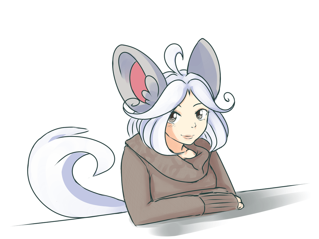 Cinccino gijinka by Yufika on DeviantArt