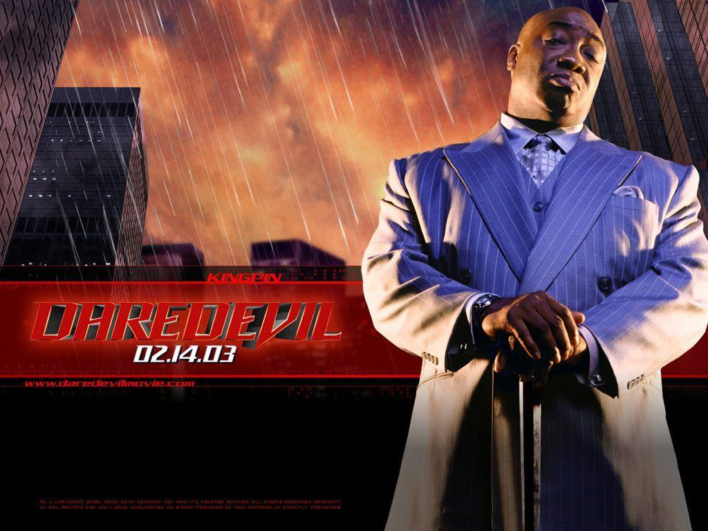 Michael Clarke Duncan as the Kingpin of Crime Wilson Fisk! rip! only