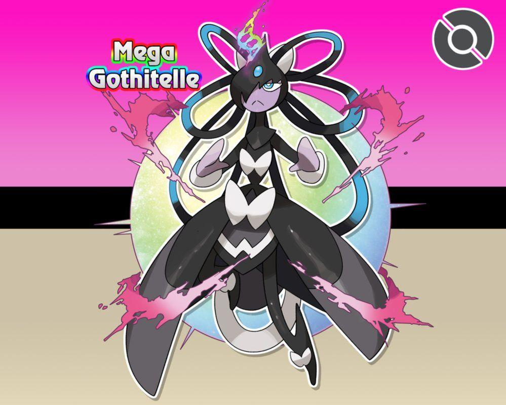 202-M Mega Gothitelle by locomotive111 on DeviantArt