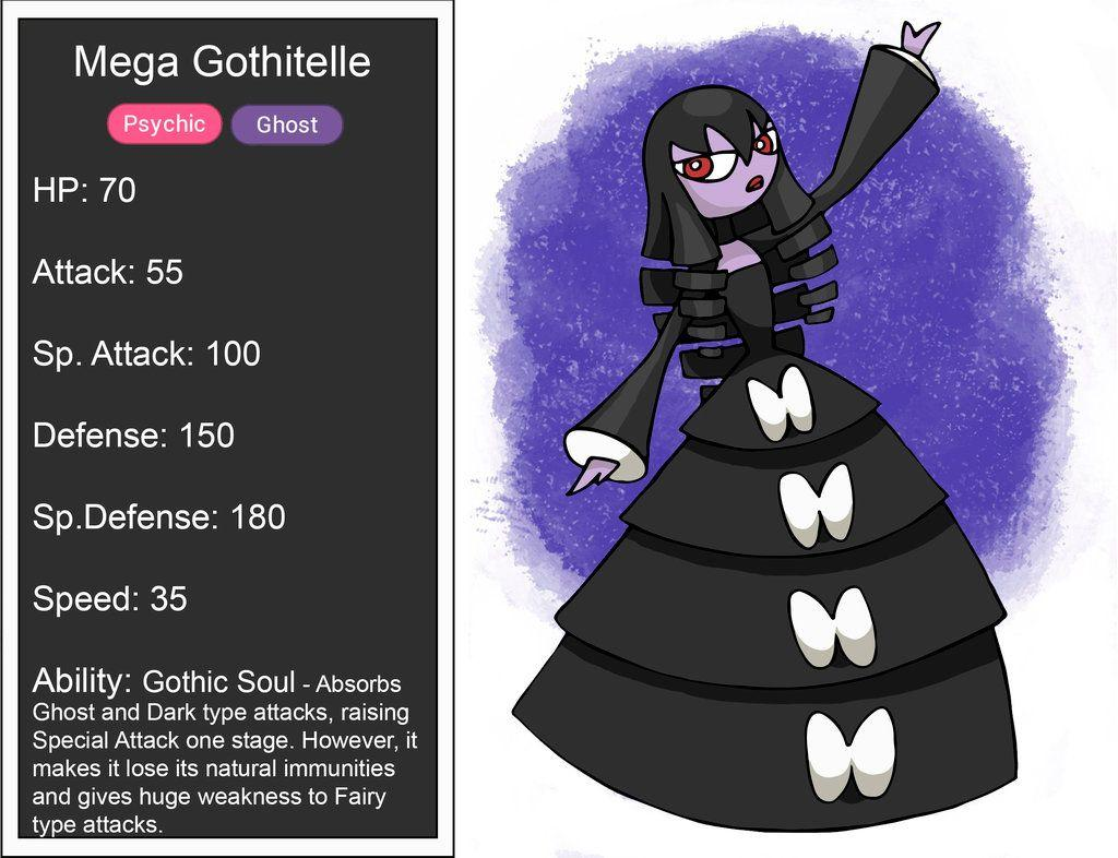 Mega Gothitelle stats by YunaUtopia on DeviantArt