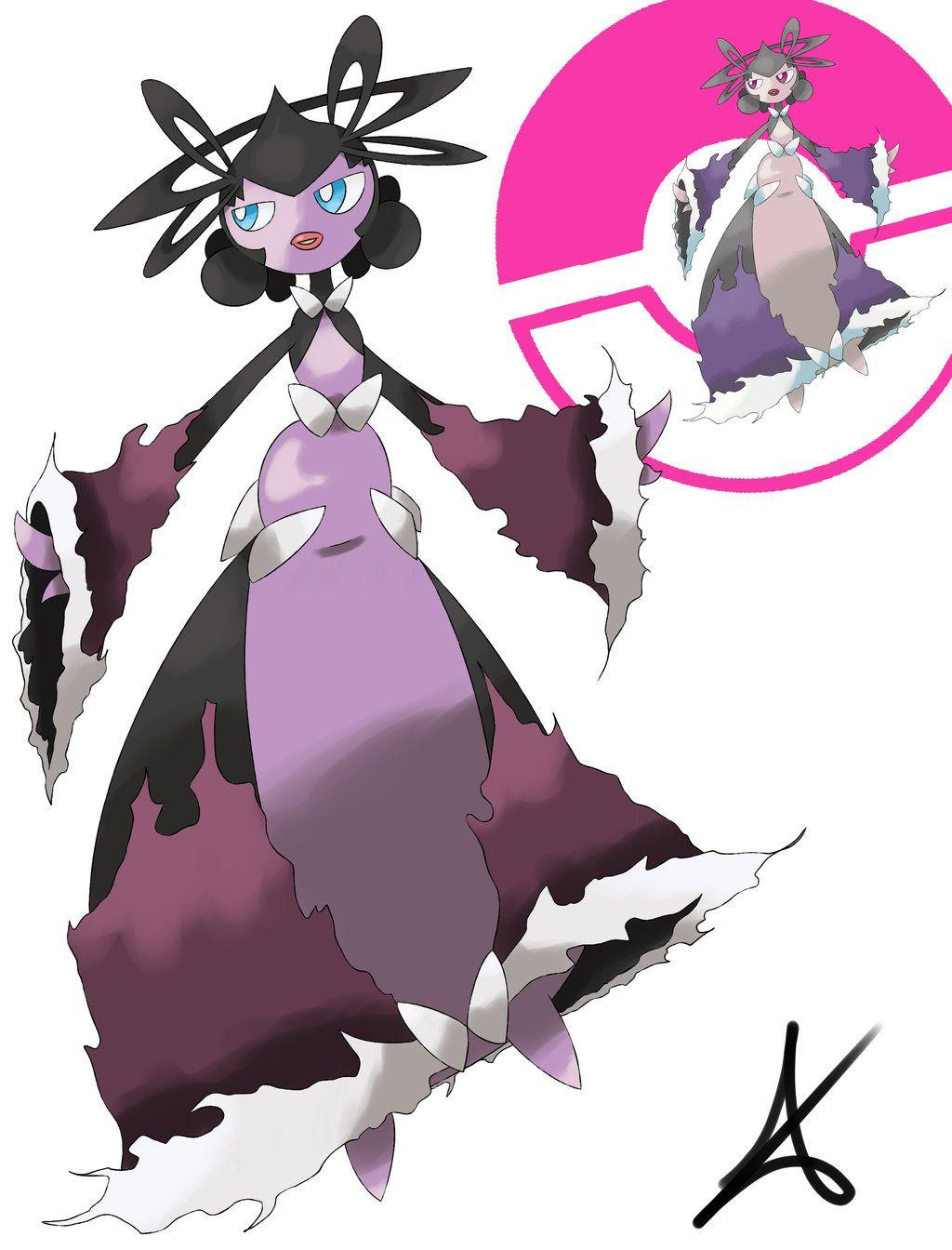 Mega Gothitelle (Sugimori Style) by MexieChan on DeviantArt