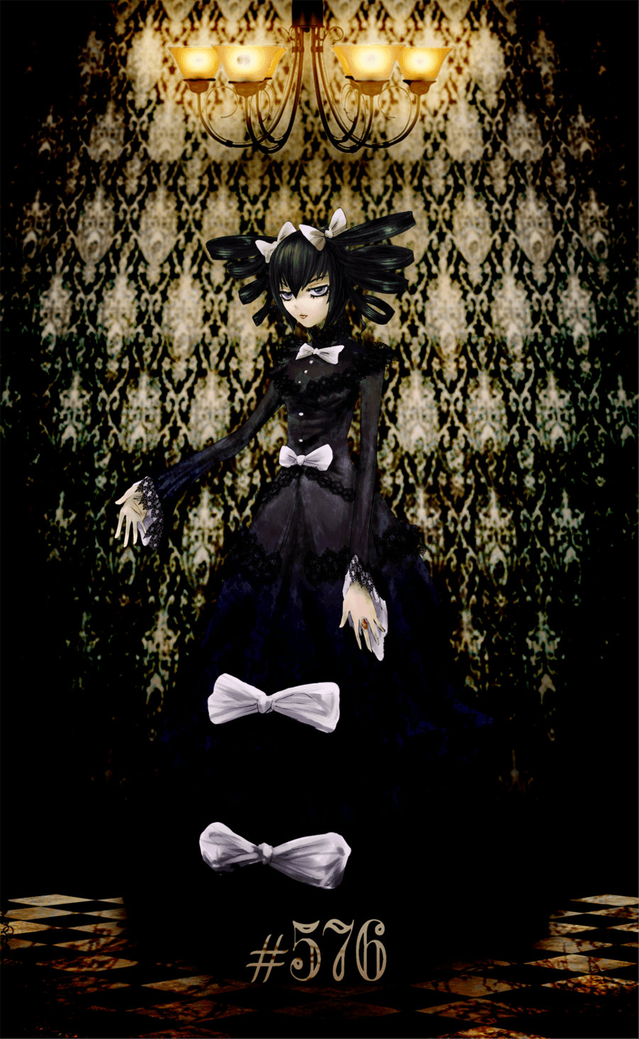 Gothitelle personification by moontown0125 on DeviantArt