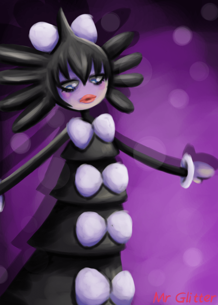 Pokemon: Gothitelle by MrGlitter on DeviantArt