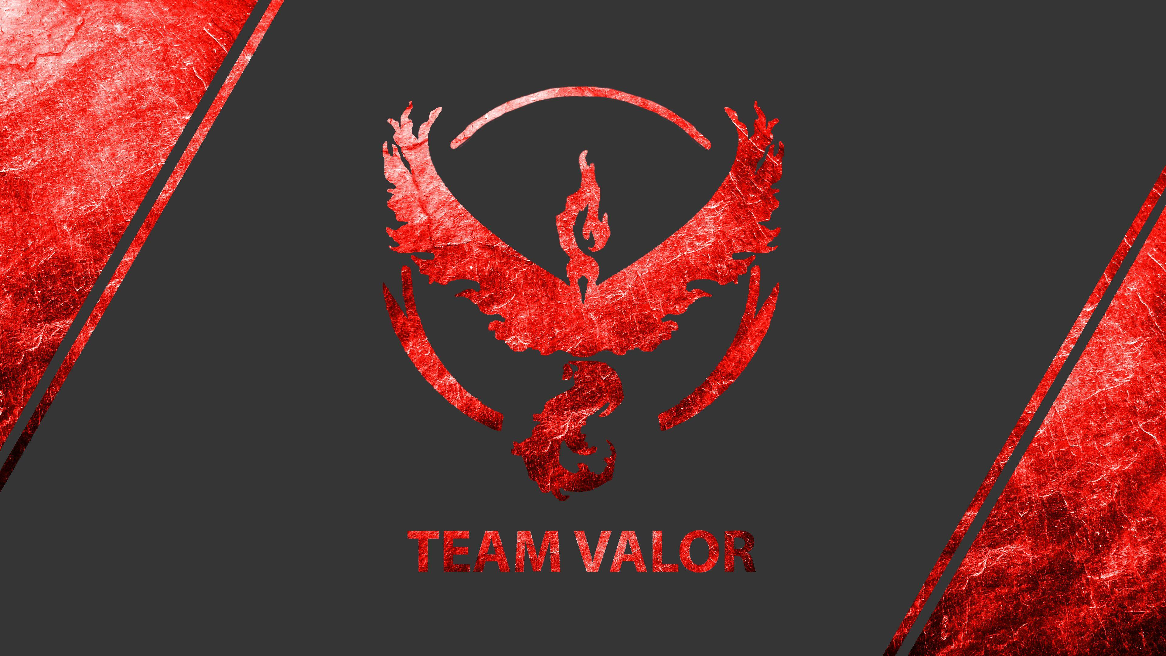 Pokemon Go Teams Valor Wallpapers Wallpaper Cave