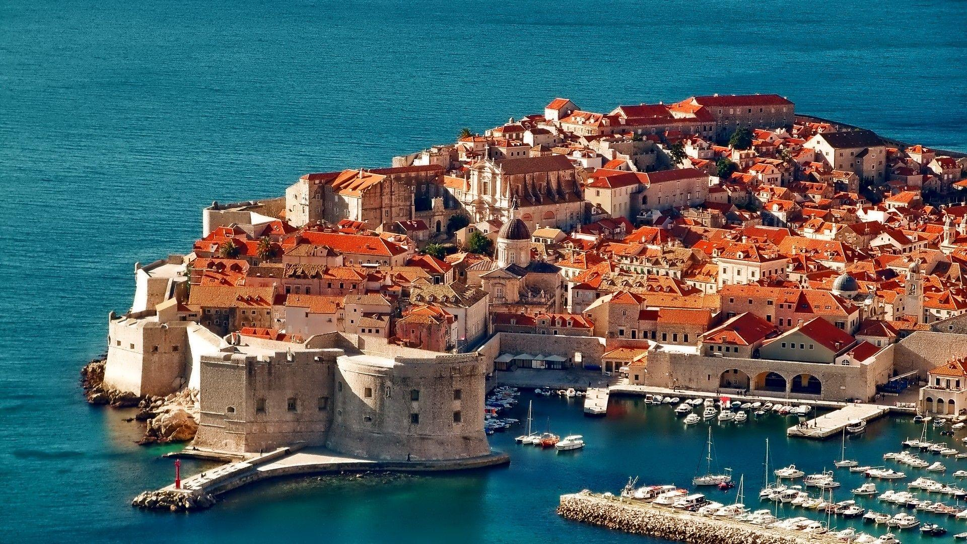 Dubrovnik Houses Chorwacja House Sea Dual Wallpapers ~ Houses for HD