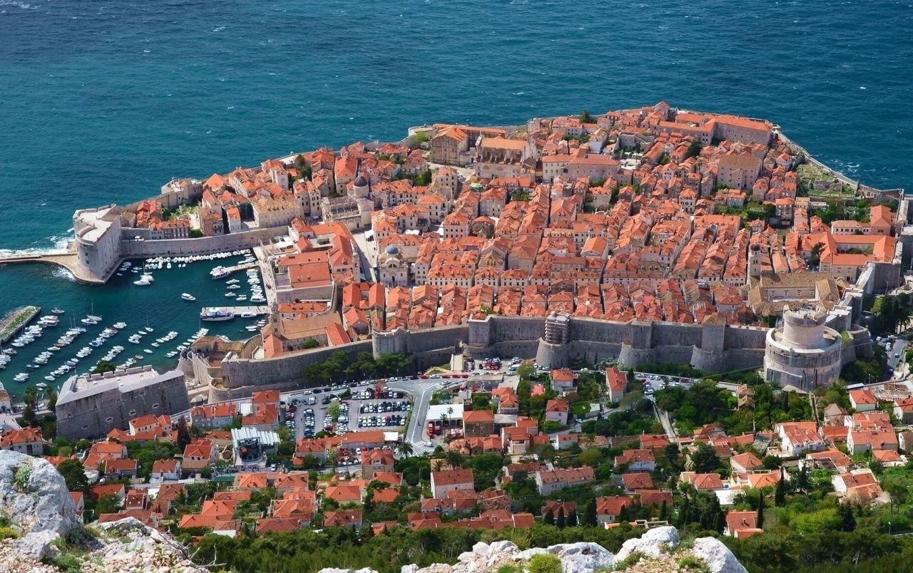 Dubrovnik Croatia Sky View wallpapers