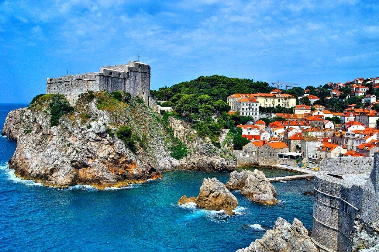 Wallpapers Tagged With Dubrovnik: Dubrovnik Nature Place Ocean Blue