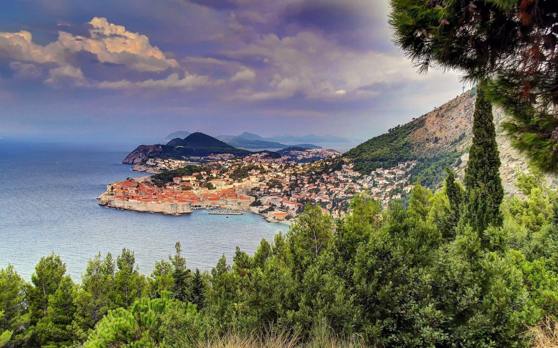 Croatia Coast Dubrovnik. Android wallpapers for free
