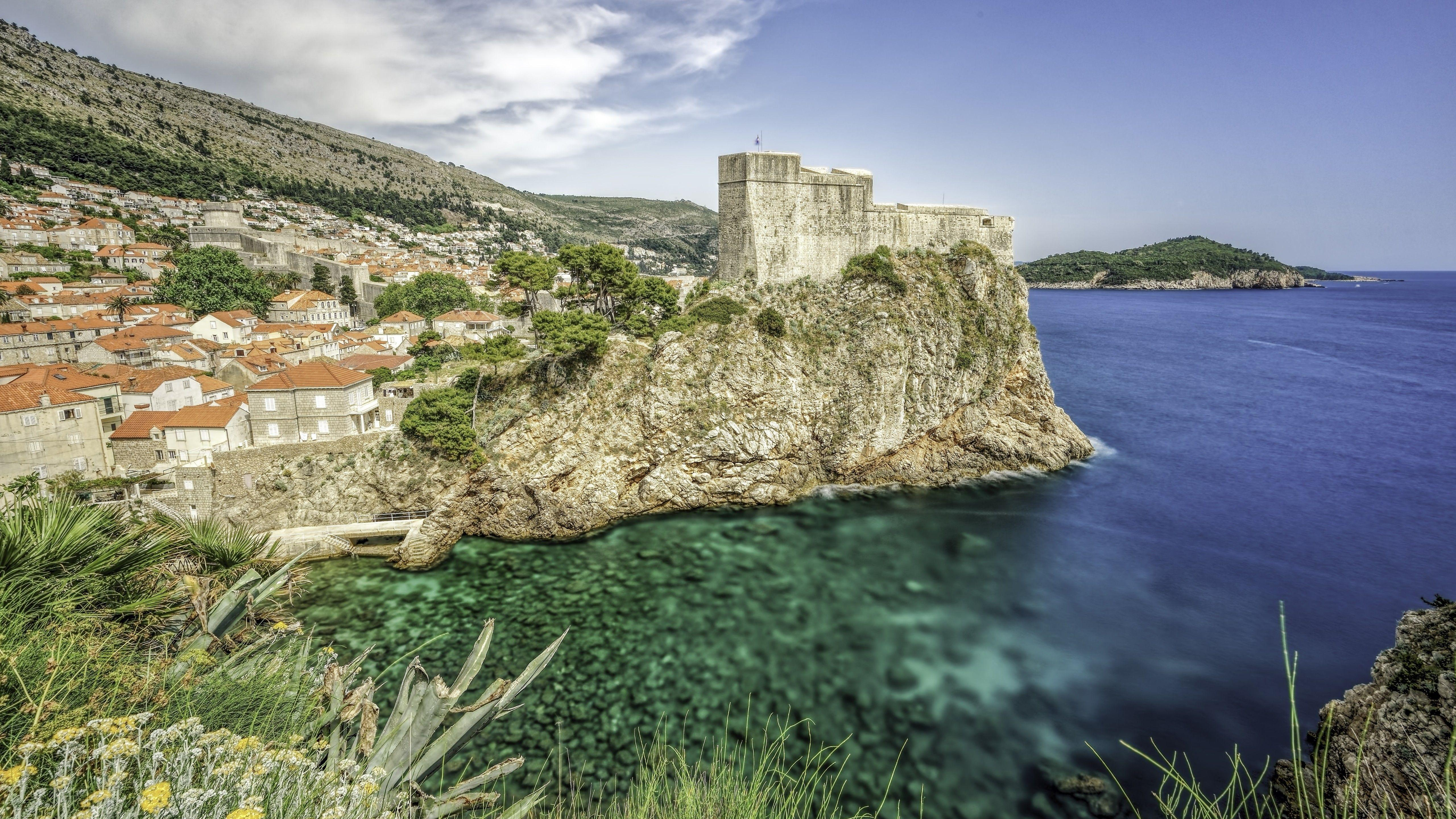 Wallpapers 5120x2880 Awesome fort Lovrijenac Dubrovnik Wallpapers