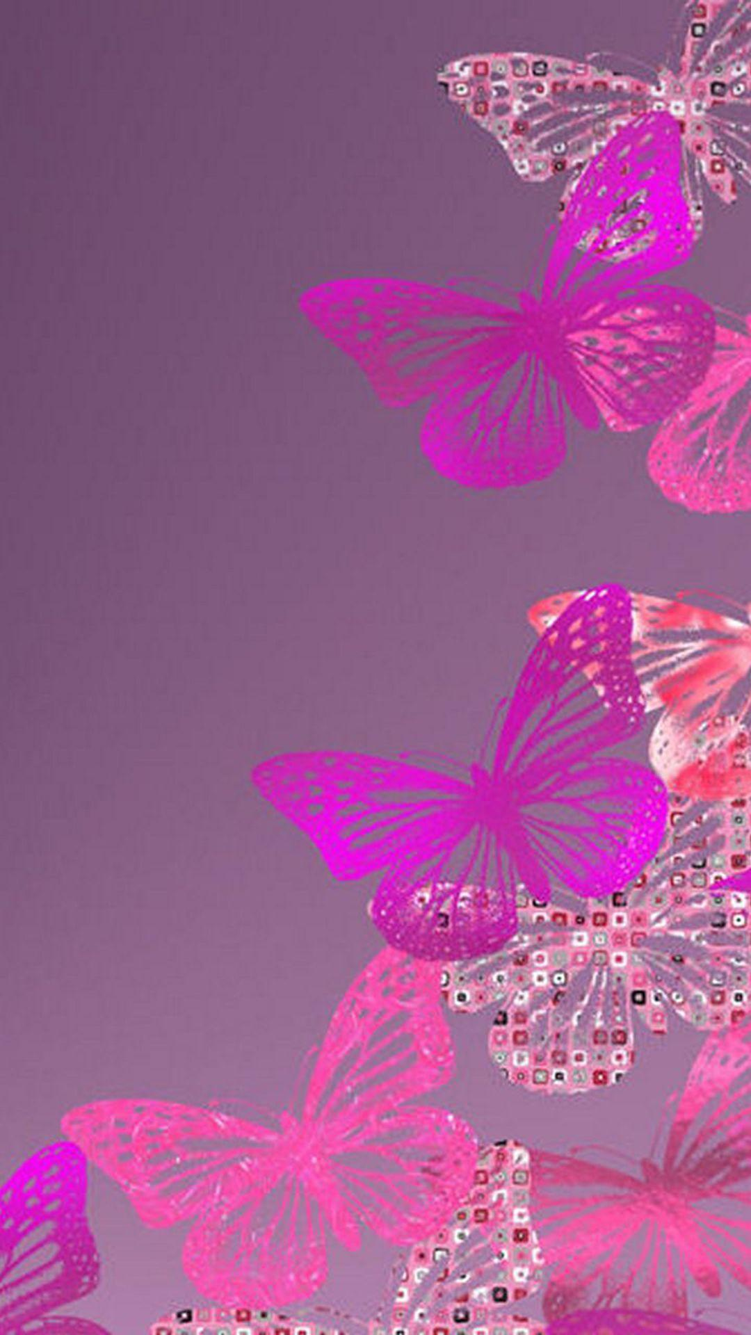 Pink Butterfly Wallpapers - Wallpaper Cave