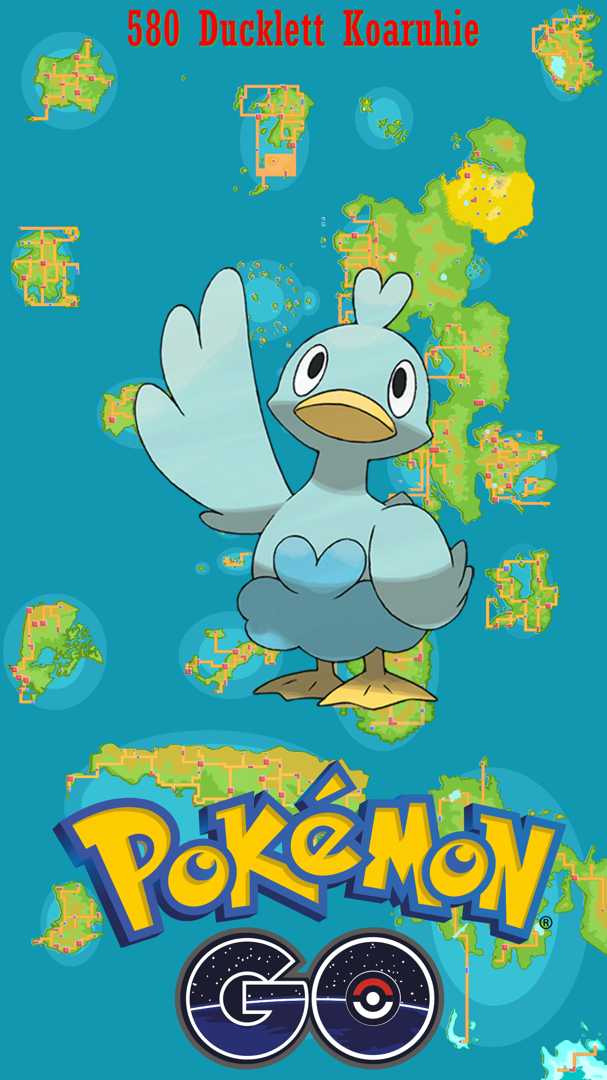 580 Street Map Ducklett Koaruhie | Wallpaper
