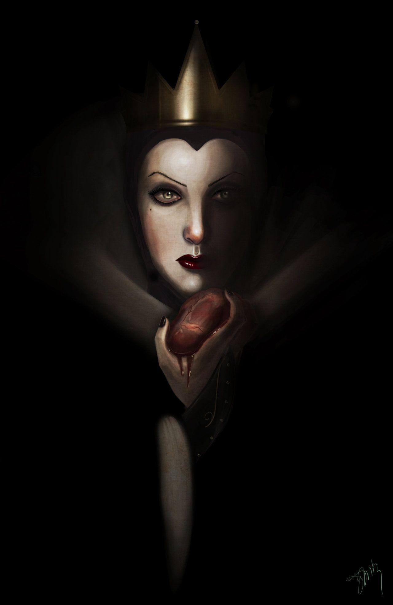 Evil Queen Wallpapers Wallpaper Cave