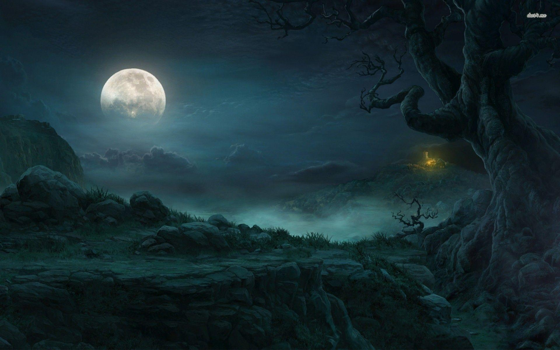 Moon Hd Wallpaper 1080p