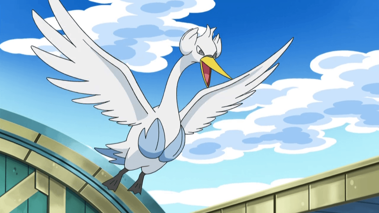 I love seeing you fly Swanna. | Swanna | Pinterest | Pokémon