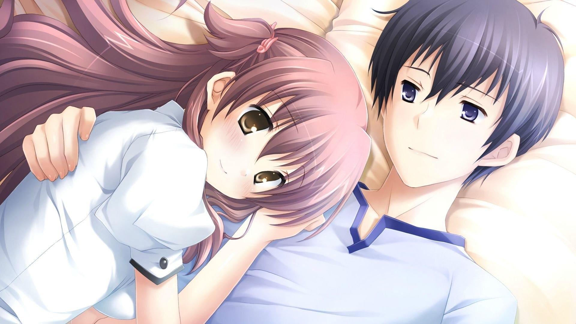 Anime Couple Hug Wallpapers - Wallpaper Cave