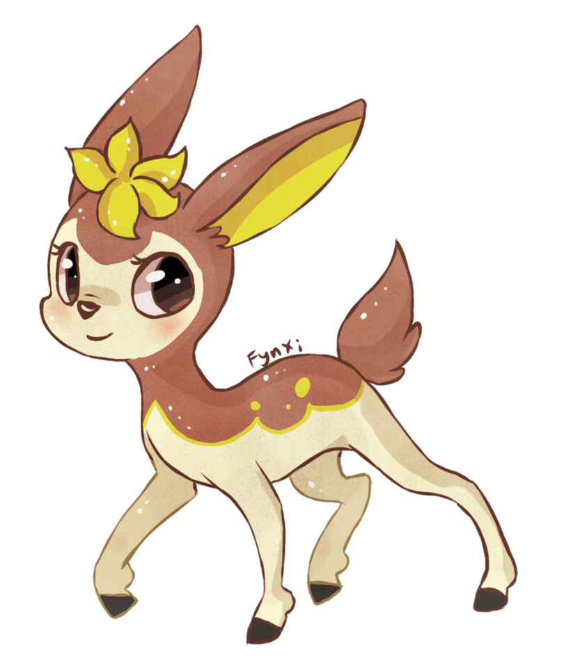 Winter Deerling by Esurie