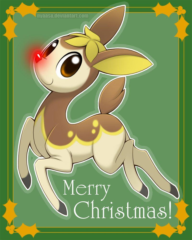 Rudolph the Red-Nosed Deerling by Nyaasu on DeviantArt
