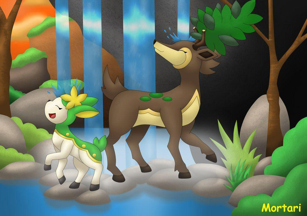 Sawsbuck and Deerling