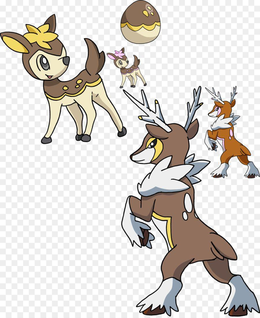 Deerling Pikachu Sawsbuck Evolution Pokémon