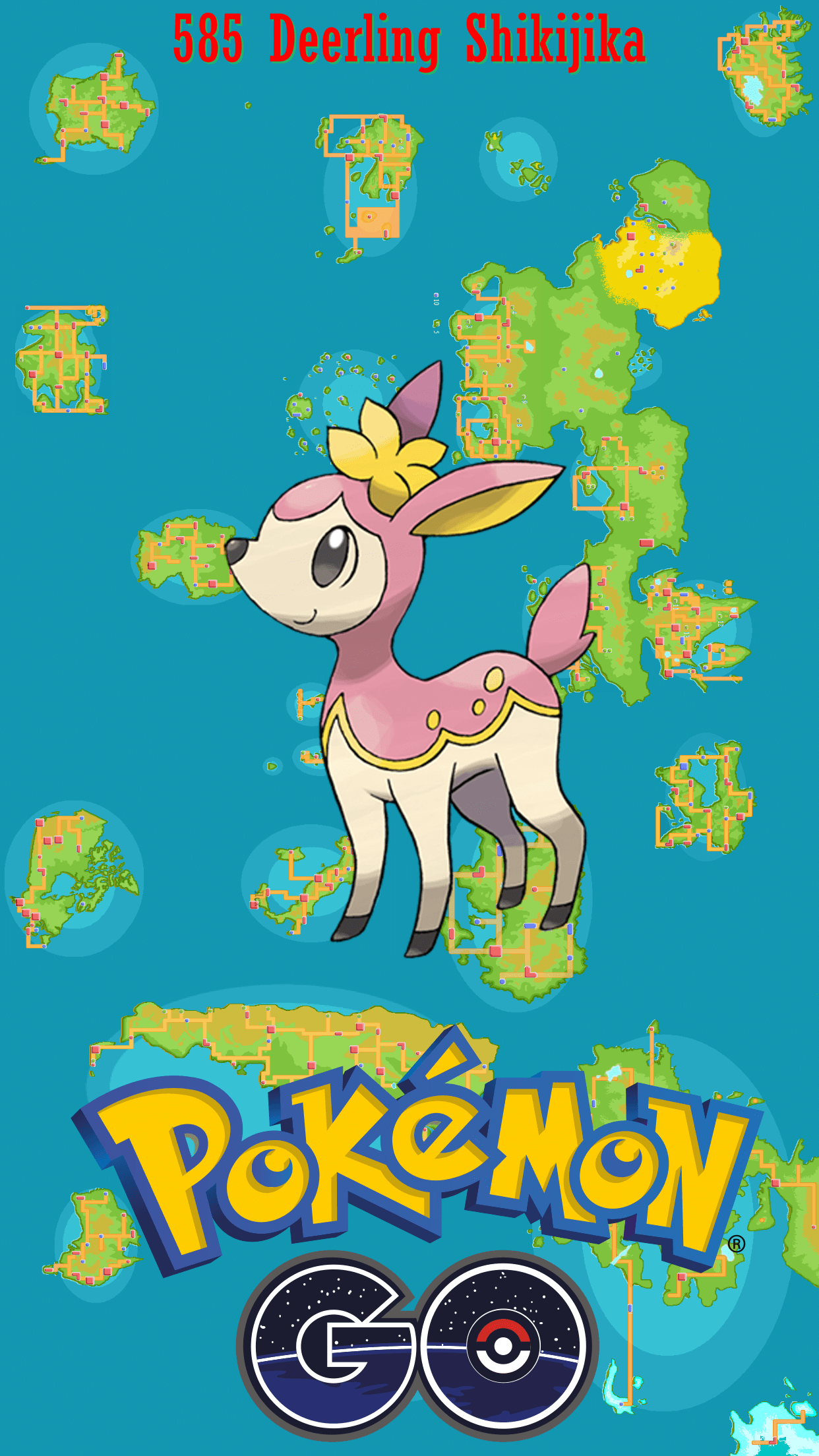 585 Street Map Deerling Shikijika